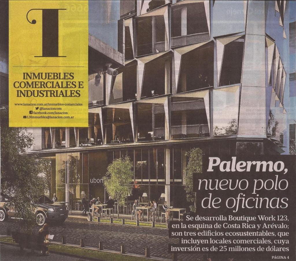 La Nación- Edificios de oficina sustentables- Portada