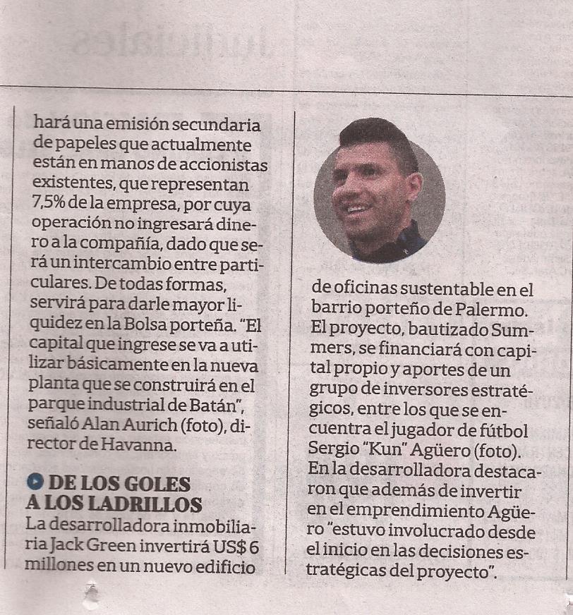31-05-2016-La Nación-De los goles a los ladrillos