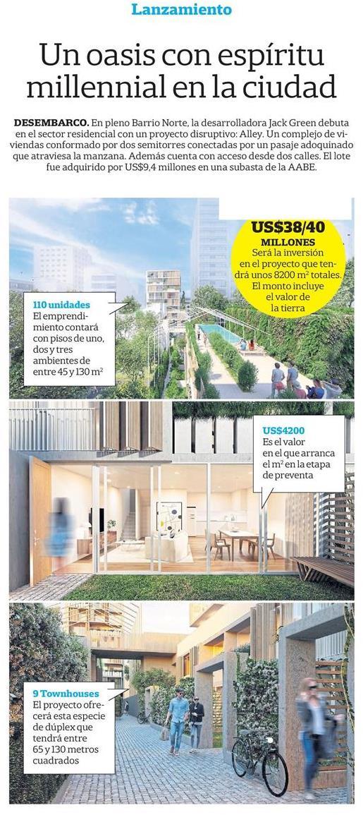 27-10-2018- Diario La Nación - Un oasis con espíritu millennial en la ciudad