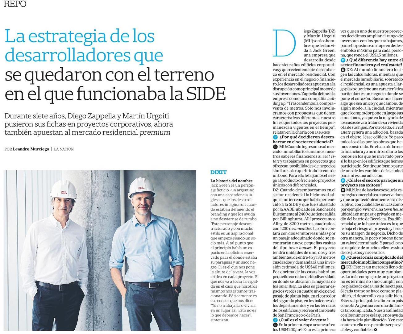 09-02-2019- Diario La Nación - Palabra de desarrollador 2